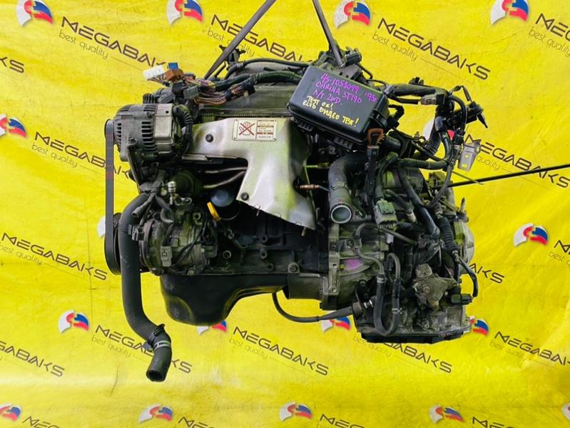 Двигатель Toyota Carina ST190 4S-FE 1993 1058099 (б/у)