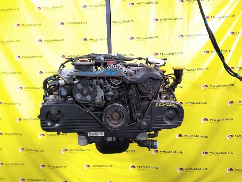 Двигатель Subaru Forester SF5 EJ201 2001 B352404 (б/у)