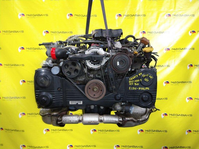 Двигатель Subaru Legacy BE5 EJ206 2001 B486846 (б/у)