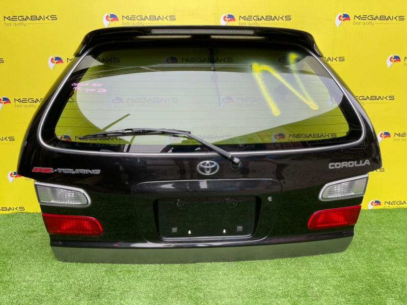 Дверь задняя Toyota Corolla AE101 1999 13-54, 13-53, BZ touring (б/у)
