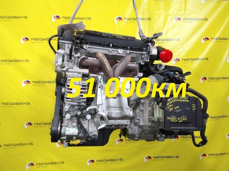 Двигатель Peugeot 207 WE EP6C 2008 0313666 (б/у)