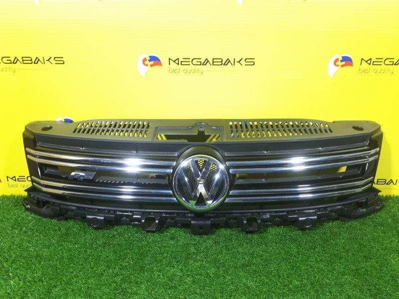 Решетка радиатора Volkswagen Tiguan 5N0 2014 R.LINE (б/у)