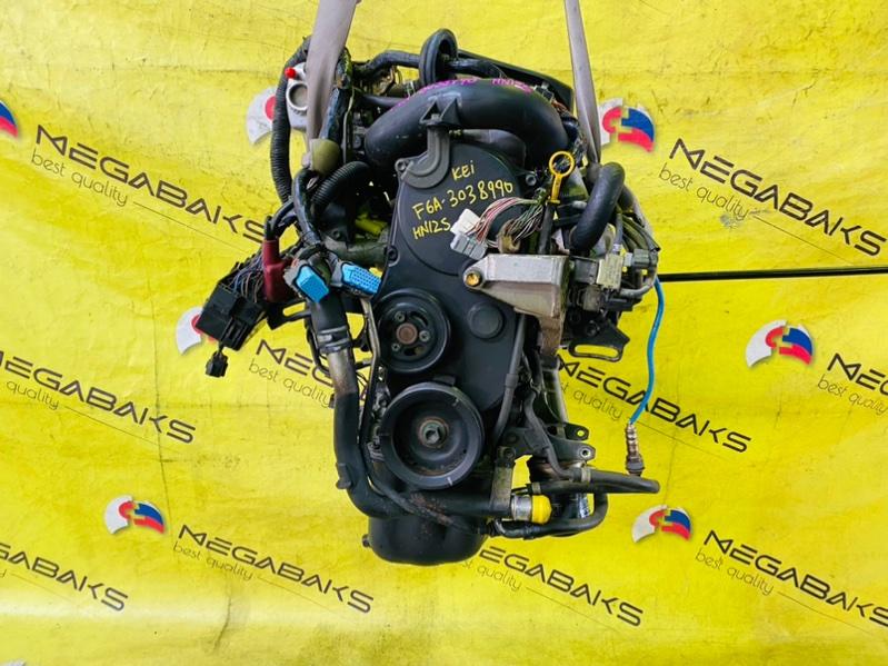 Двигатель Suzuki Kei HN12S F6A 3038990 (б/у)