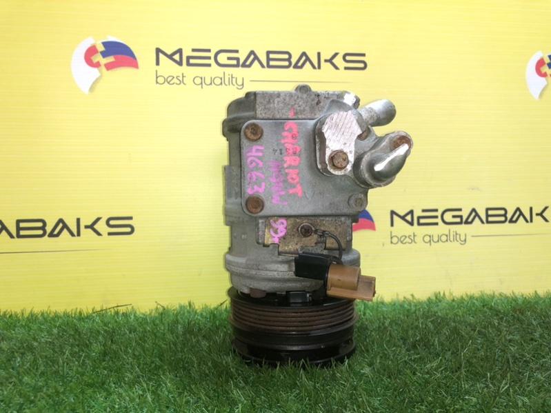 Компрессор кондиционера Mitsubishi Chariot Grandis N94W 4G63 (б/у)