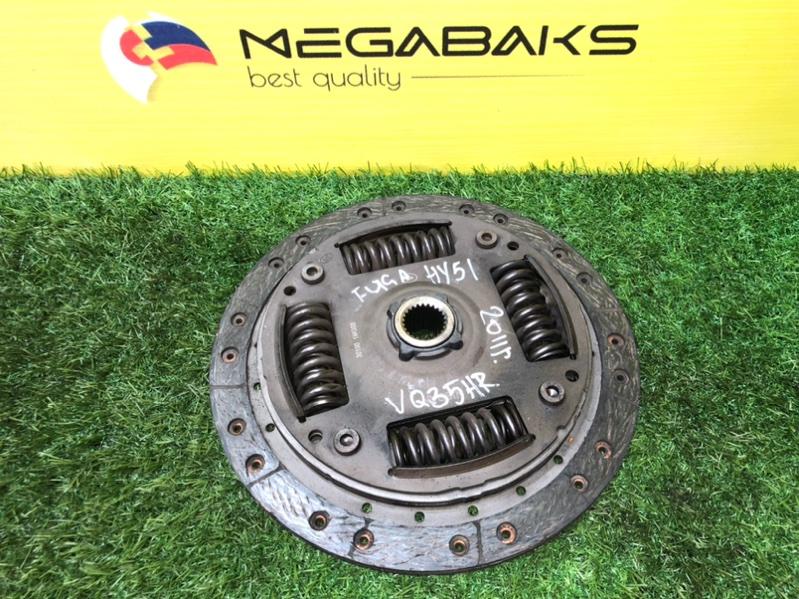 Диск сцепления Nissan Fuga HY51 VQ35HR (б/у)