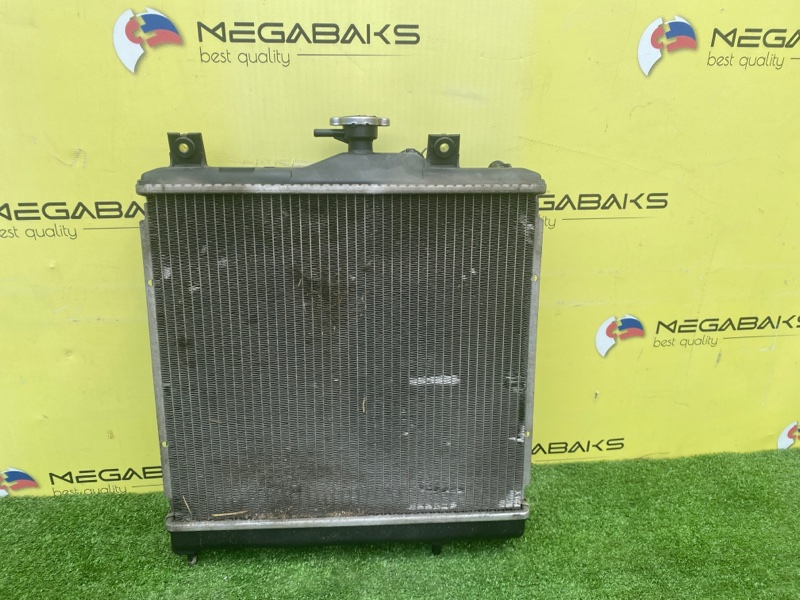 Радиатор основной Mitsubishi Pajero Mini H56A 4A30T 1999 (б/у)