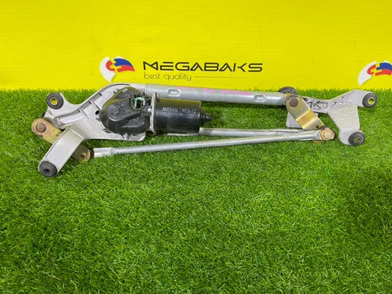 Мотор дворников Nissan Primera TP12 передний (б/у)
