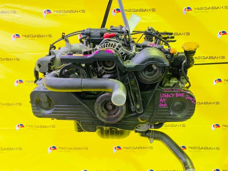Двигатель Subaru Legacy BH5 EJ202 2002 B672753 (б/у)