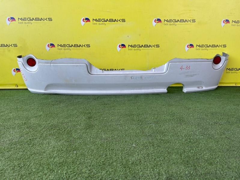 Губа Toyota Porte NNP10 задняя MODELISTA (б/у)