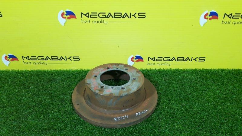 Тормозной диск Mitsubishi Delica PD6W задний левый (б/у)