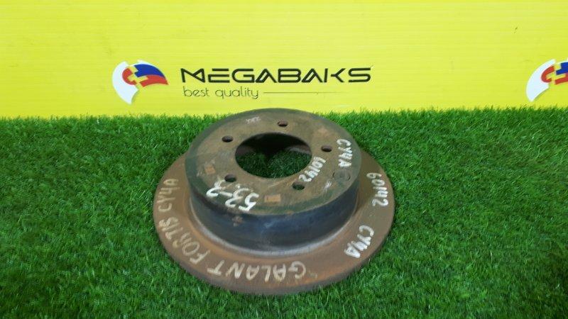 Тормозной диск Mitsubishi Galant Fortis CY4A 4B11 задний (б/у)