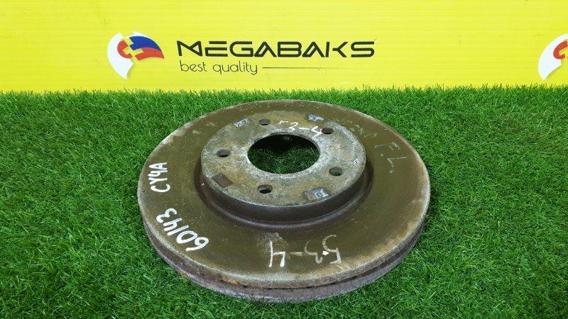 Тормозной диск Mitsubishi Galant Fortis CY4A 4B11 передний (б/у)