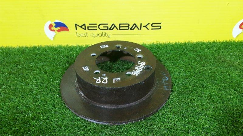 Тормозной диск Mitsubishi Pajero Io H76W задний правый 260мм (б/у)
