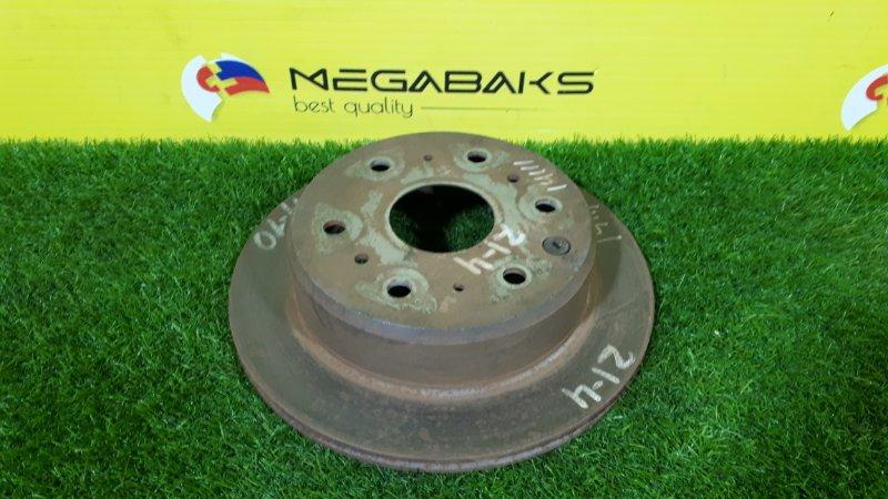 Тормозной диск Toyota Granvia KCH10 задний (б/у)