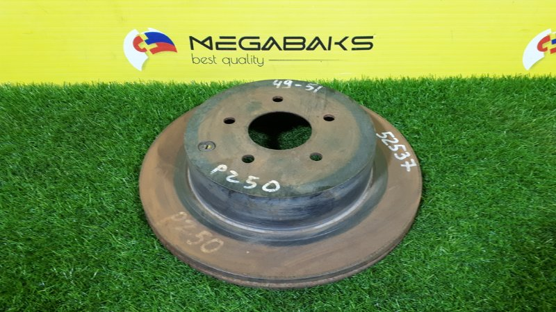 Тормозной диск Nissan Murano PZ50 VQ35DE задний (б/у)