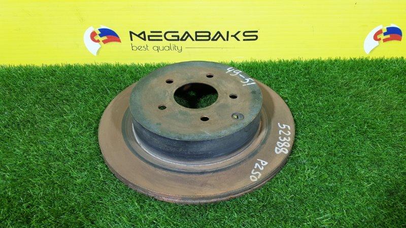 Тормозной диск Nissan Murano PZ50 задний (б/у)