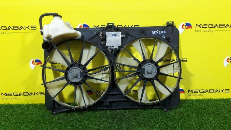 Диффузор радиатора Toyota Crown GRS203 3GR-FSE (б/у)