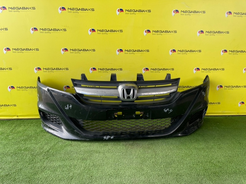 Бампер Honda Stream RN6 R18A 2011 передний II MODEL (б/у)