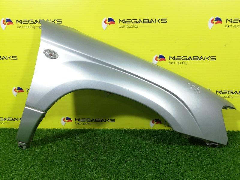 Крыло Subaru Forester SG5 переднее правое I MODEL (б/у)