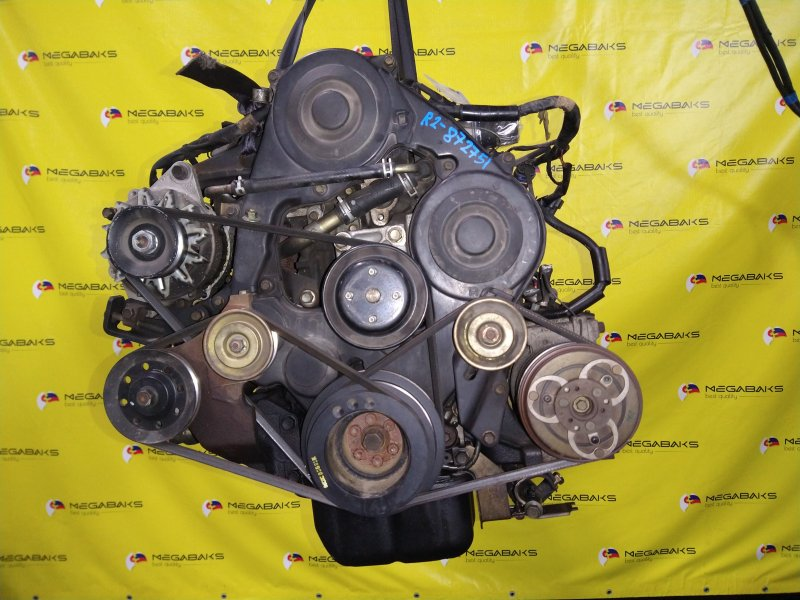 Двигатель Mazda Bongo SK22M R2 2003 872751 (б/у)