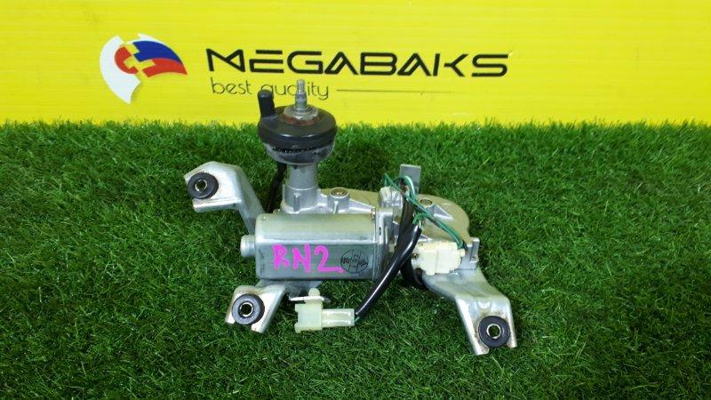 Мотор дворников Honda Stream RN2 задний (б/у)