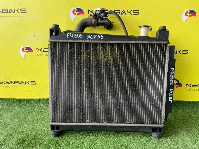 Радиатор основной Toyota Probox NCP55 1NZ-FE (б/у)
