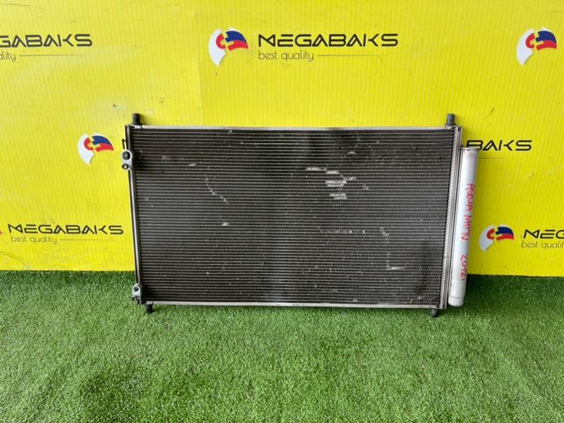 Радиатор кондиционера Toyota Aqua NHP10 1NZ-FXE 2012 (б/у)