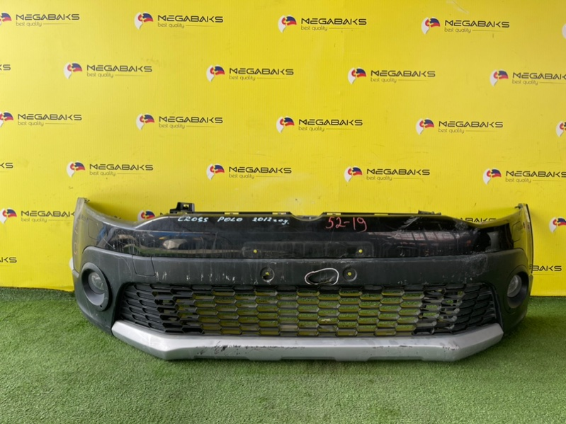 Бампер Volkswagen Polo 6R1 передний CROSS (б/у)