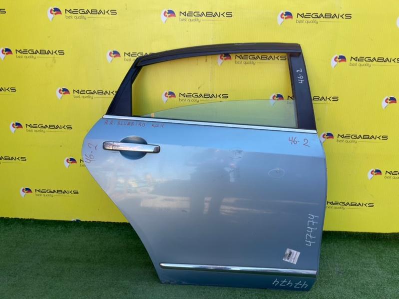 Дверь Nissan Bluebird Sylphy G11 MR20DE задняя правая (б/у)