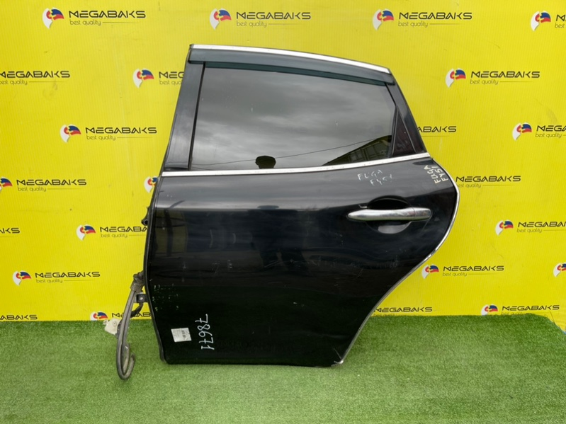 Дверь Nissan Fuga HY51 задняя левая (б/у)