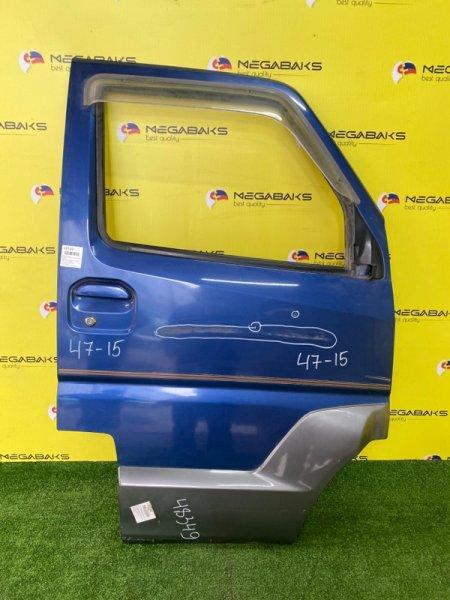 Дверь Mitsubishi Town Box Wide U66W 4A31 передняя правая (б/у)