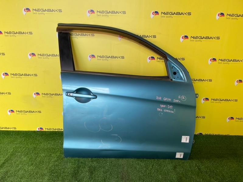 Дверь Mitsubishi Rvr GA3W передняя правая (б/у)