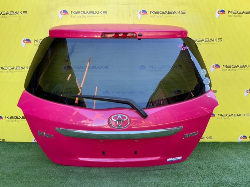 Дверь задняя Toyota Vitz KSP130 I MODEL (б/у)
