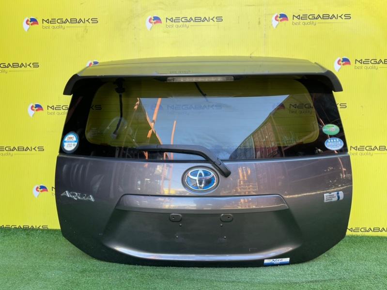 Дверь задняя Toyota Aqua NHP10 (б/у)