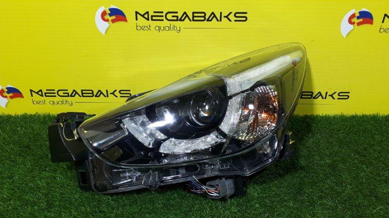 Фара Mazda Demio DJ3FS левая 100-18373 (б/у)