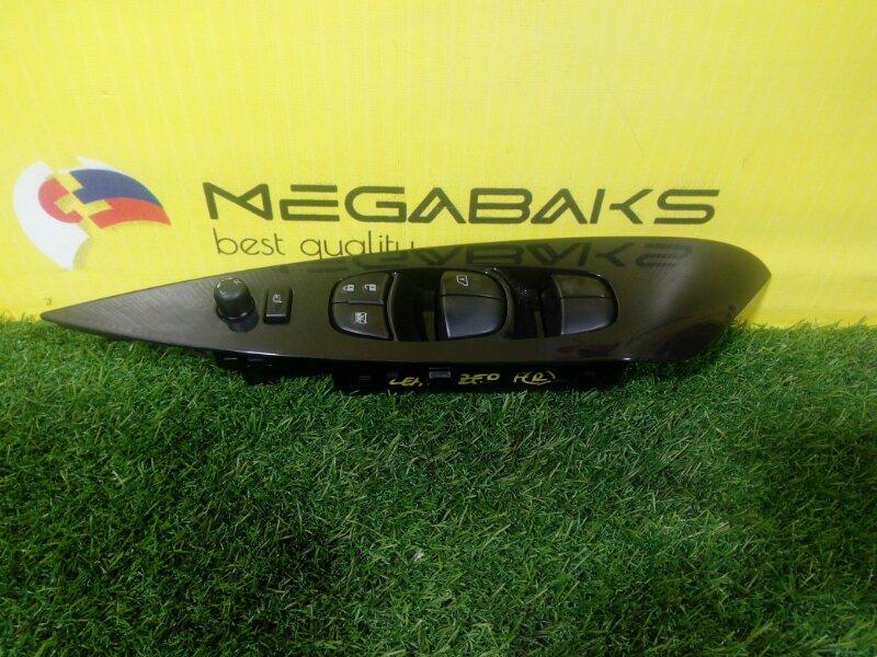 Блок упр. стеклоподьемниками Nissan Leaf ZE0 2012 передний правый (б/у)