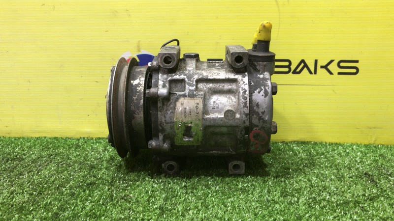 Компрессор кондиционера Mazda Rx-7 FC3S 13B (б/у)