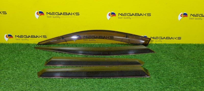 Ветровики комплект Subaru Impreza GE2 SEDAN. (б/у)