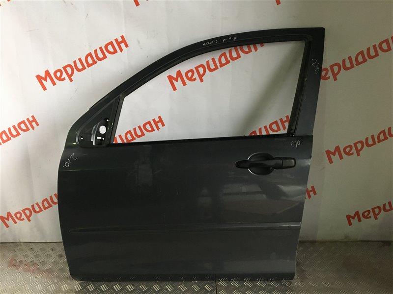 Дверь передняя левая Mazda 2 DY 2005 (б/у)