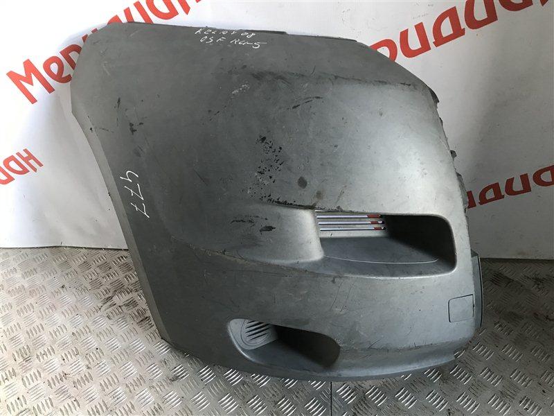 Накладка переднего бампера правая Citroen Jumper 250 2008 (б/у)