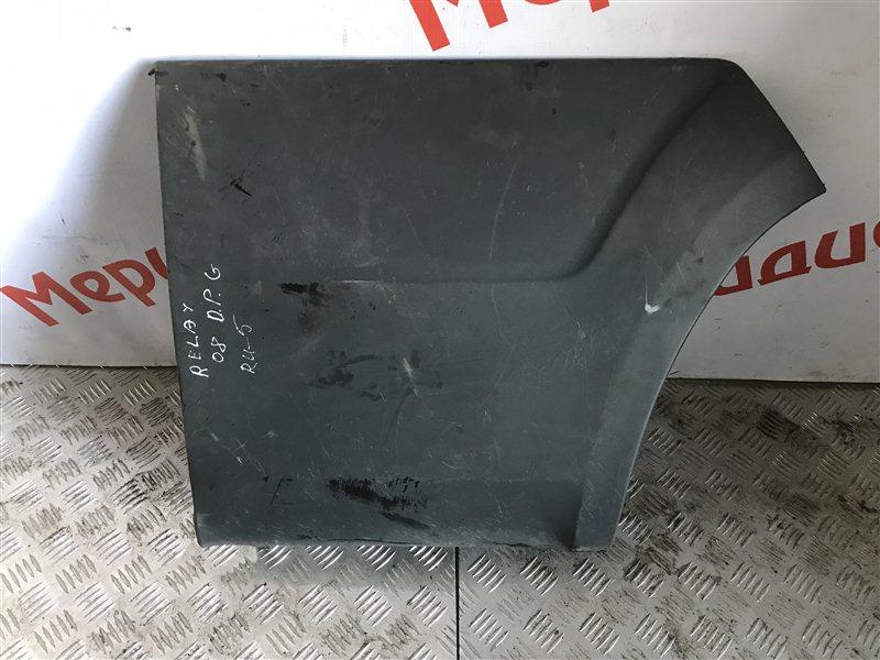 Накладка заднего крыла правого Citroen Jumper 250 2008 (б/у)