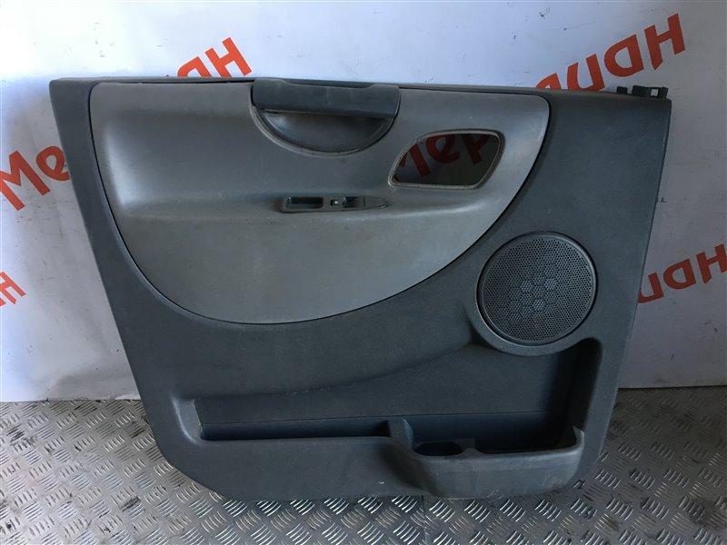Обшивка двери передней левой Citroen Jumpy 2010 (б/у)