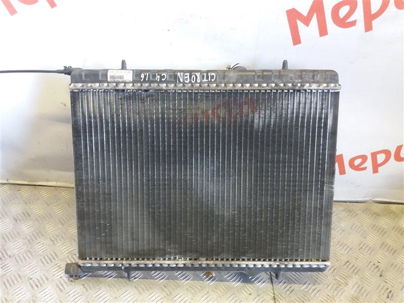 Радиатор основной Citroen C4 I 1.6 2010 (б/у)