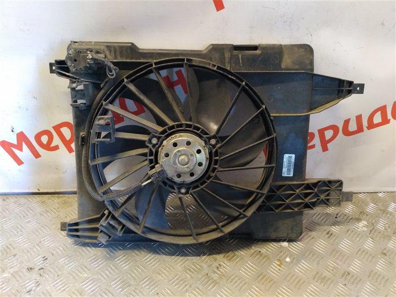 Вентилятор радиатора Renault Scenic II 1.5 2006 (б/у)