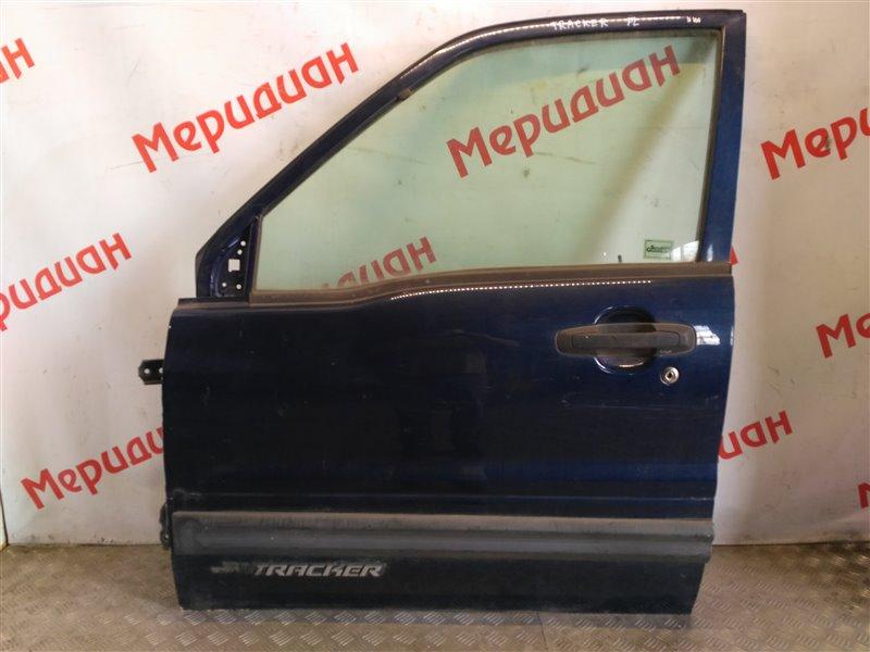Дверь передняя левая Chevrolet Tracker II 2002 (б/у)