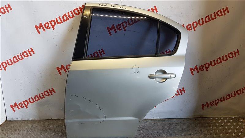 Дверь задняя левая Suzuki Sx4 I (CLASSIC) 2012 (б/у)