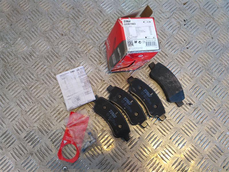 Тормозные колодки Citroen C4 I 2010 (б/у)