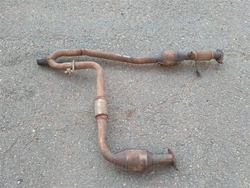 Приемная труба глушителя Nissan Pathfinder R51 4.0 2012 (б/у)