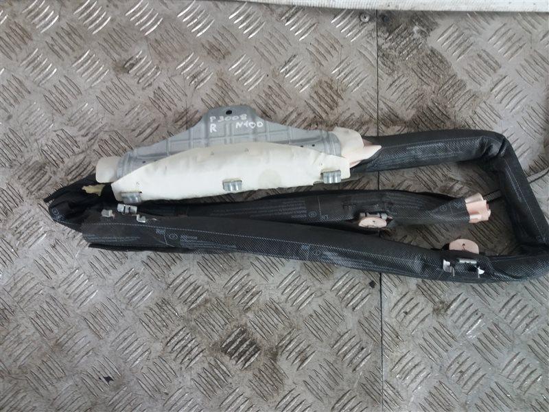 Подушка безопасности боковая (шторка) Peugeot 3008 1.6 2012 правая (б/у)
