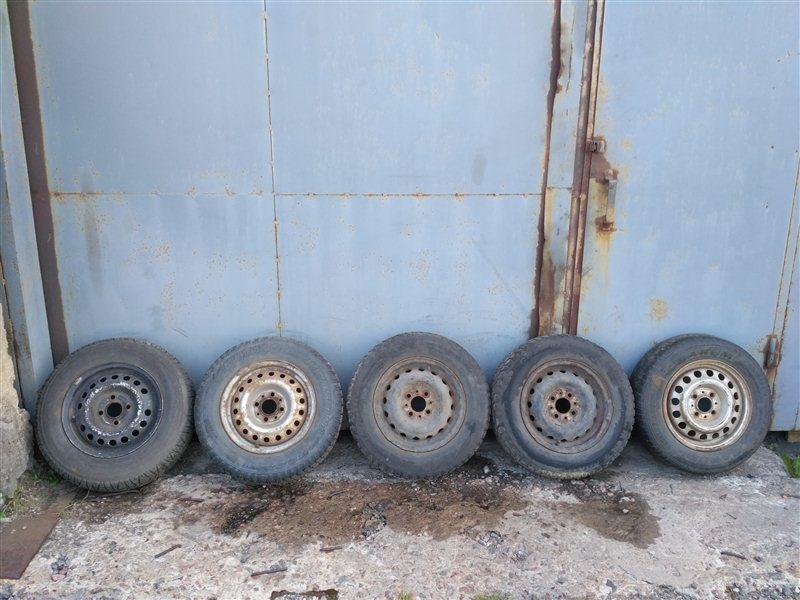 Комплект колес Daewoo Nexia 1999 (б/у)